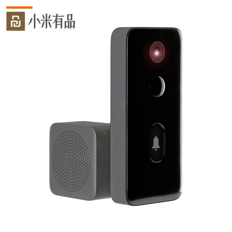 Xiaomi فيديو الجرس 2 MJML02-FJ بالنيابة الذكية البواب الإنسان كشف 3Day سحابة التخزين صوت تغيير 2Way نقاش للرؤية الليلية DND