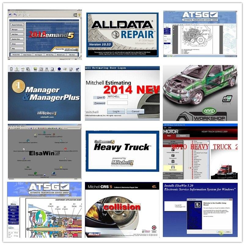 2020 gran oferta Alldata mi... le ondem. d Software de datos 10,53 + mi. El Infierno en d. Y 2015 + ElsaWin + vívido + atsg 24 en 1tb hdd usb3.0