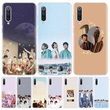 Kpop got7 JinYoung جاكسون علامة الهاتف حالة ل Xiaomi Redmi 6A 7A 8A Note5 7 8 8T 9S 10 K20 K30 S2 MI8 9 6x CC9 F1 لايت برو كوف