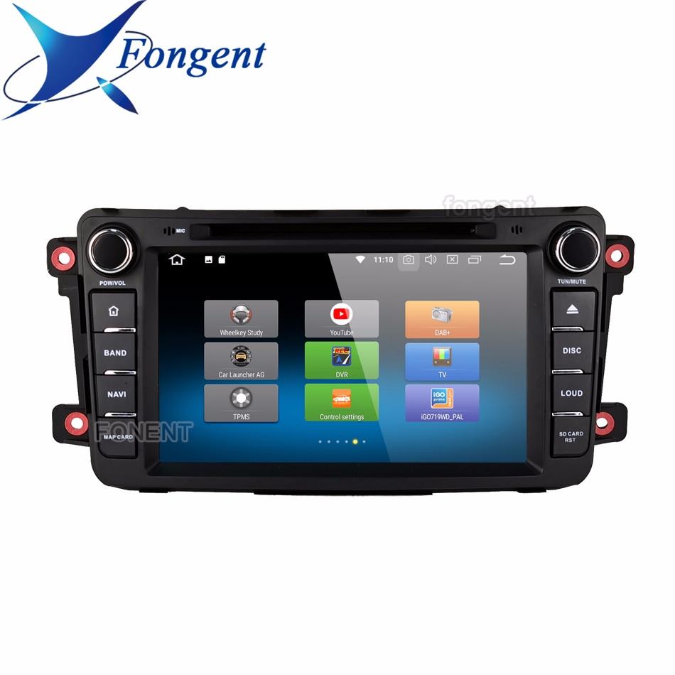 2 Din Android Car Dvd Player Gps Navigation Audio Carplay Dsp Autoradio For Mazda Cx9 Cx 9 Cx-9 Car Radio Stereo Multimedia Obd2
