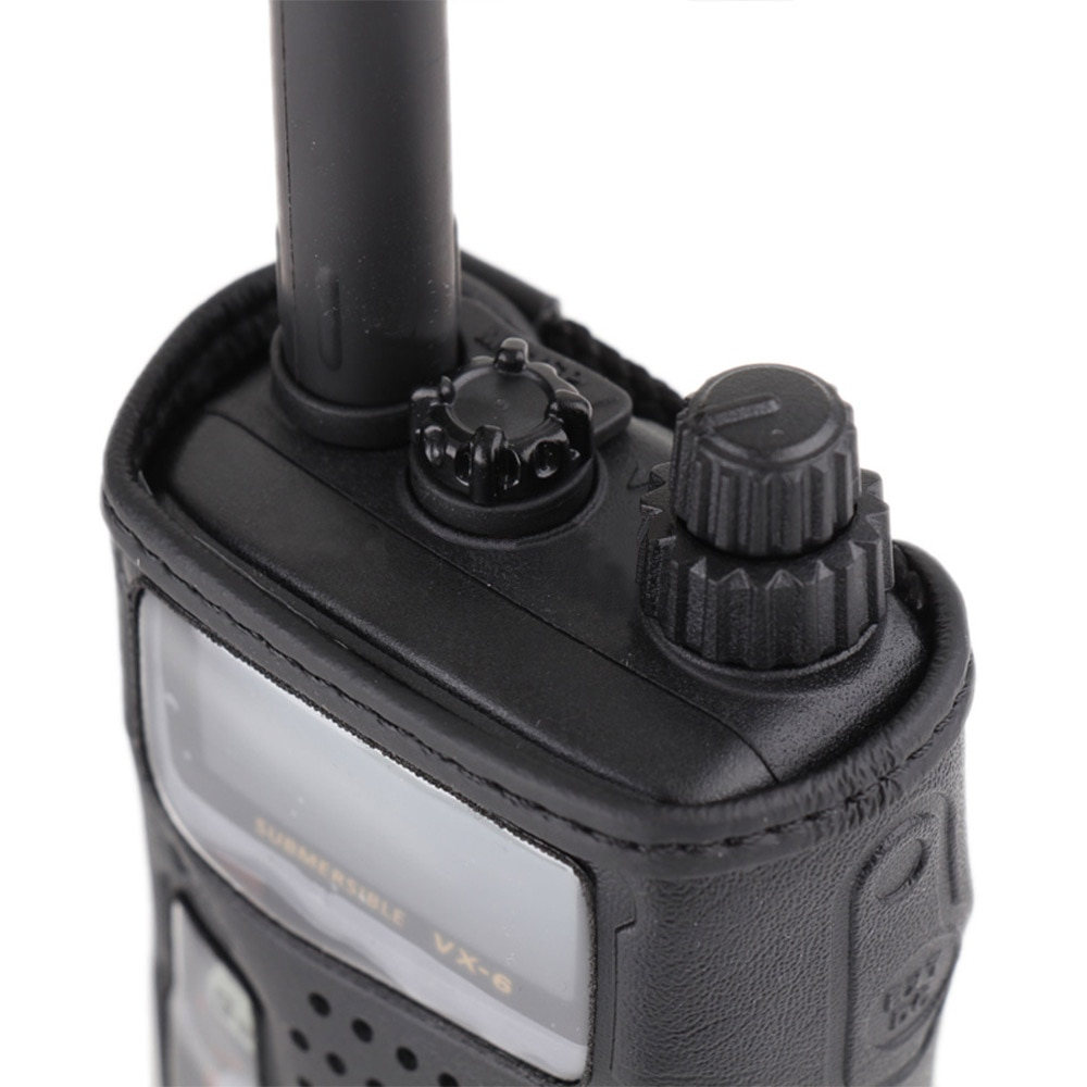 Applicable to YAESU VX6R Walkie Talkie VX-6R Two Way Radio Leather Case CSC-91 Case enlarge
