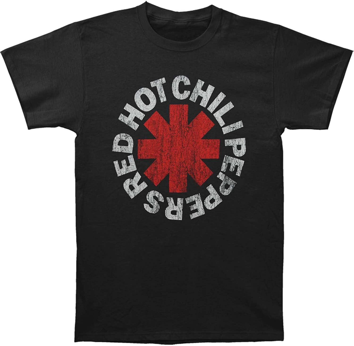 Men's Red Hot Chili Peppers Men's Short Sleeve T-Shirt Mens T Shirts Casual Cotton Breathable Funny