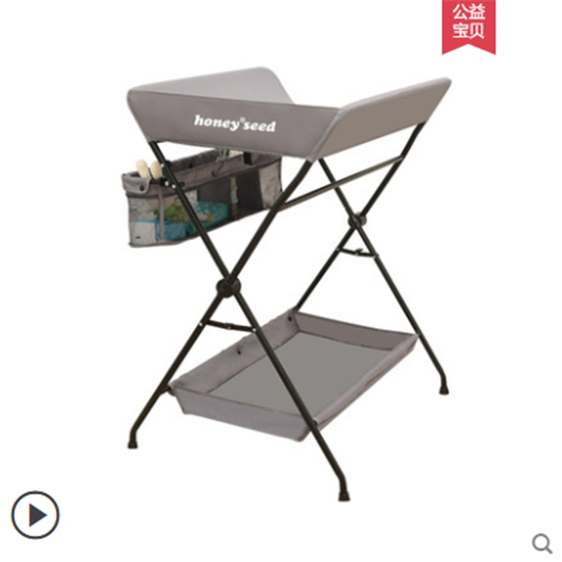 Diaper Table Baby Care Newborn Baby Diaper Changing Massage Touch Bath Multifunctional Foldable