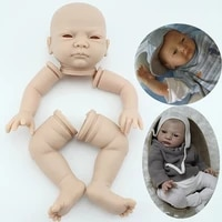50cm bebe reborn dolls kit full body vinyl washable realistic diy handmade doll