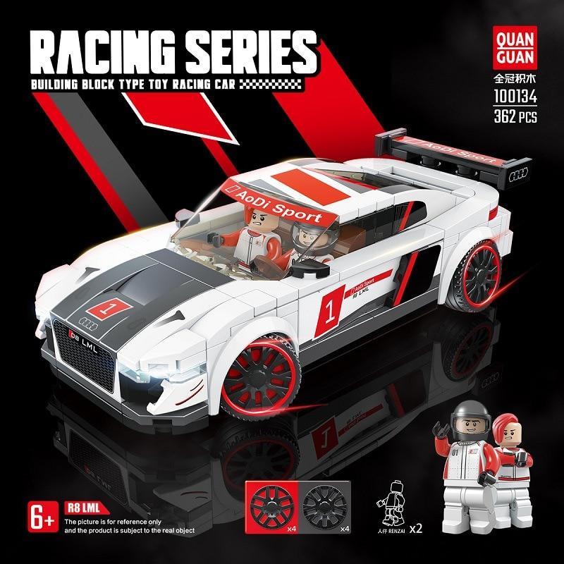 Kids Toys Technic Building Blocks Super Racing Car Moc Bricks Educational DIY Model Kit Christmas Gifts недорого