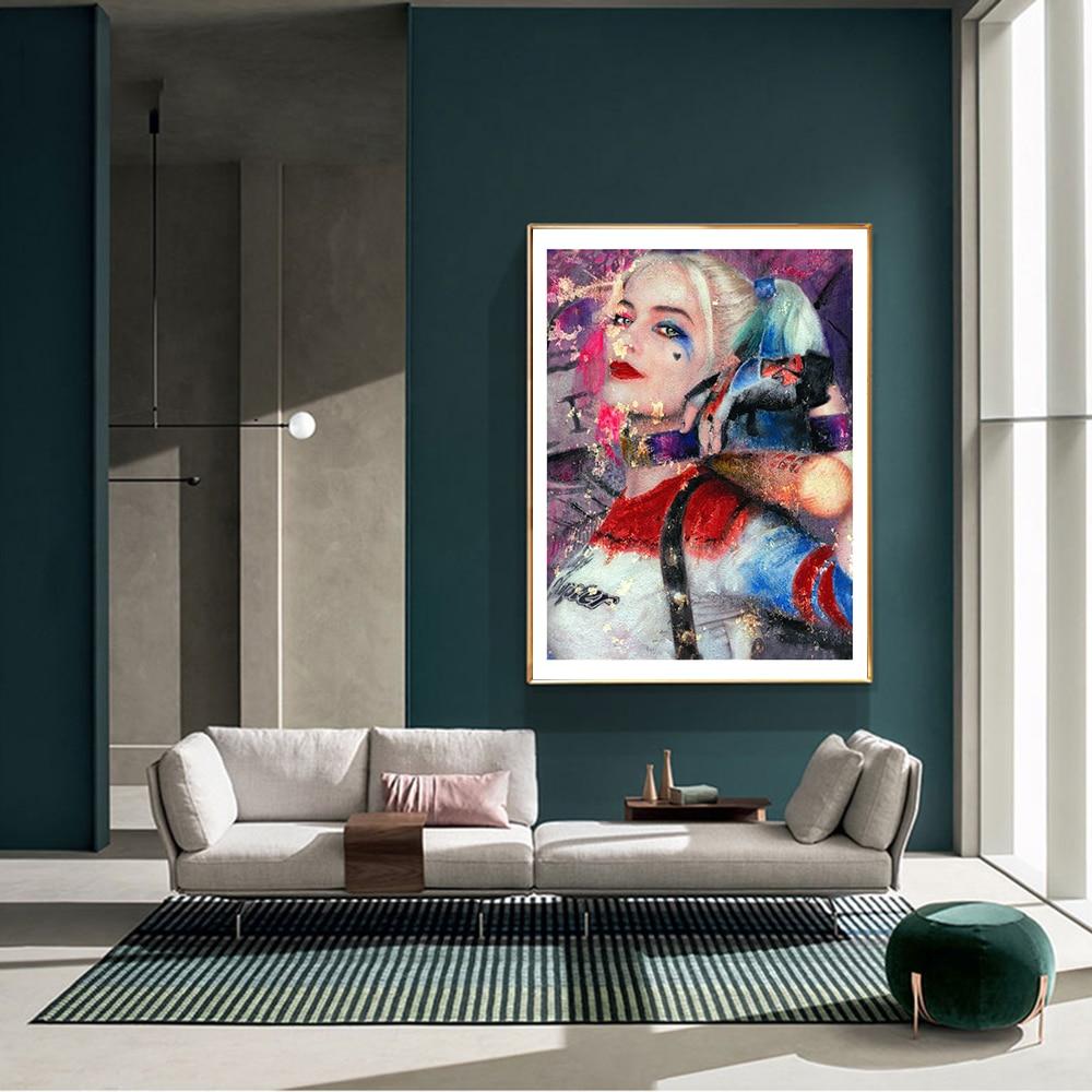 Moderna moda abstracta, estilo Sexy, pintura en lienzo, impresión artística, cartel de bromista para mujer, imagen para pared, sala de estar, decoración para el hogar
