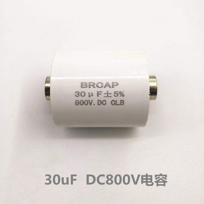 30UF800VDC condensador de la máquina de soldadura de alta frecuencia de galvanoplastia fuente de alimentación condensador de rectificador de filtro Capacitor de película