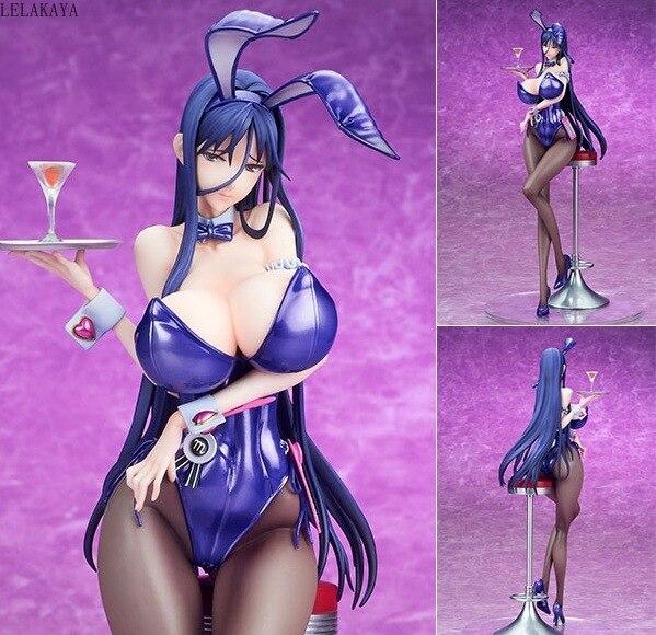 ¡Anime nativo vinculante blanco puro mágico chicas Sexy Zettai Junbaku Mahou Shoujo Misa Suzuhara Bunny Ver! PVC figuras de acción de juguete