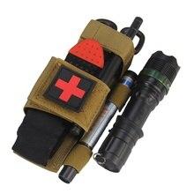 Lampe de poche ciseaux sac suspendu randonnée en plein air premiers secours rapide libération lente boucle médicale militaire tactique Tourniquet sangle