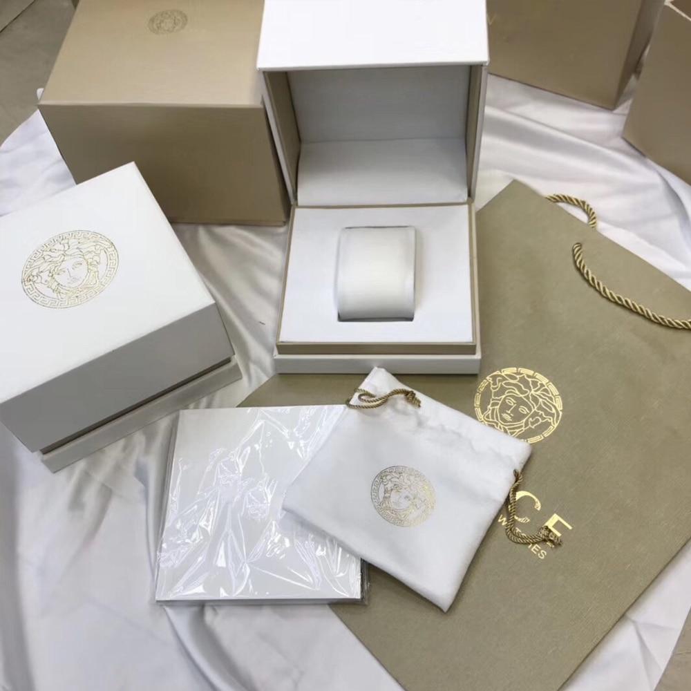 Caixa de Relógio Caixa de Armazenamento Caixa de Embalagem Mostrado na Caixa Como Especial Presente Bolsa Instruções