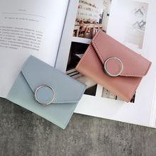 Women Wallets Small Fashion Brand Leather Purse Women Ladies Card Bag For Women 2020 Clutch Women Female Purse Money Clip Wallet