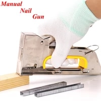 manual nail gun stapler for painting by numbers canvas painting attached to the wood frame diy oil painting tools pliers