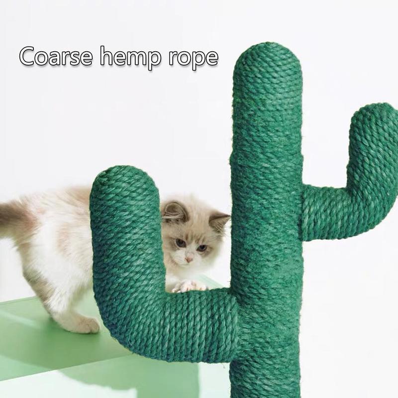 10 medidores sisal corda de 6mm de diâmetro, para a árvore do gato, gato bonito do cacto quadro de escalada