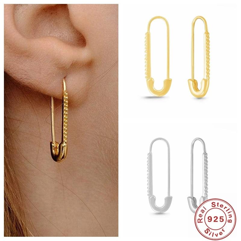 aide-2021-трендовые-серьги-925-стерлингового-серебра-минималистичный-простой-pin-обруч-серьги-huggie-серьги-в-стиле-панк-в-стиле-хип-хоп-для-женщин