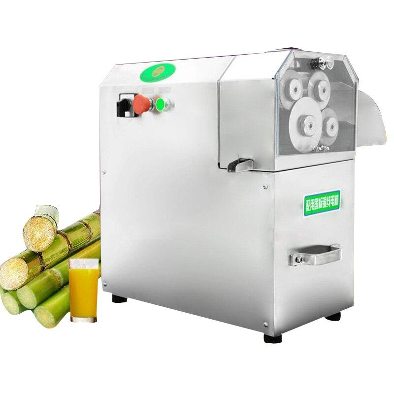 110 V/220 V/380 V exprimidor de caña de azúcar 4 rodillos máquina de caña de Augar eléctrica, exprimidor de jugo de caña, triturador de caña de azúcar, exprimidor de caña de azúcar 1 pieza