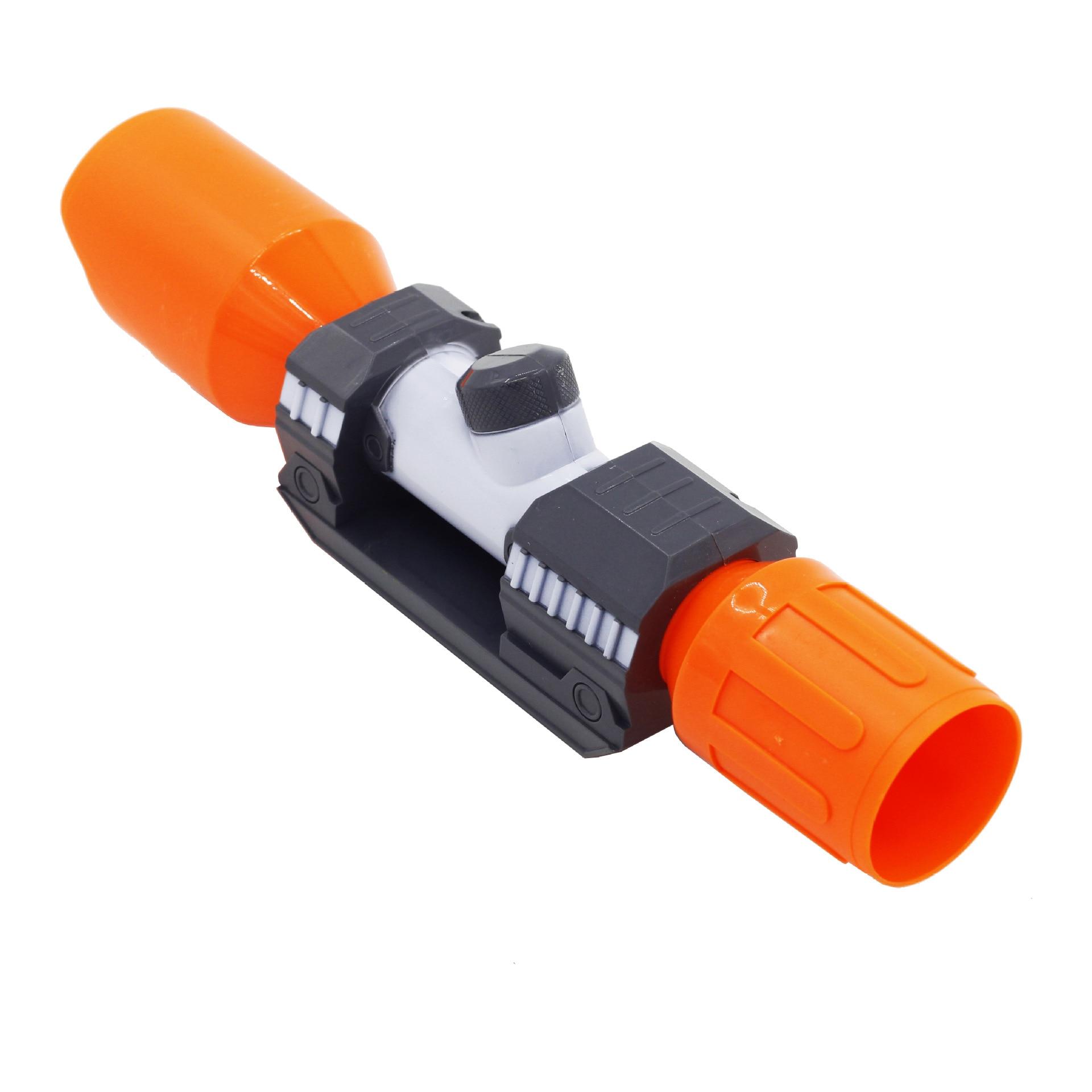 Mira de bala blanda para tubo frontal Universal Compatible con piezas modificadas, dispositivo para observación para la serie Elite 6,4x4,5x23,5 cm