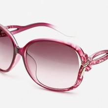2021 New Sunglasses Fashion Big Frame Bow Gradient Toad Mirror Men's and Women's Same Styles Are Pop