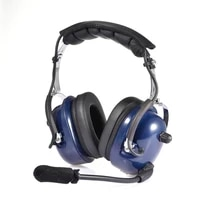 aviation pilot headset wire and wireless headphone noise reduction ga dual plugs mp3 with microphone and ear seals