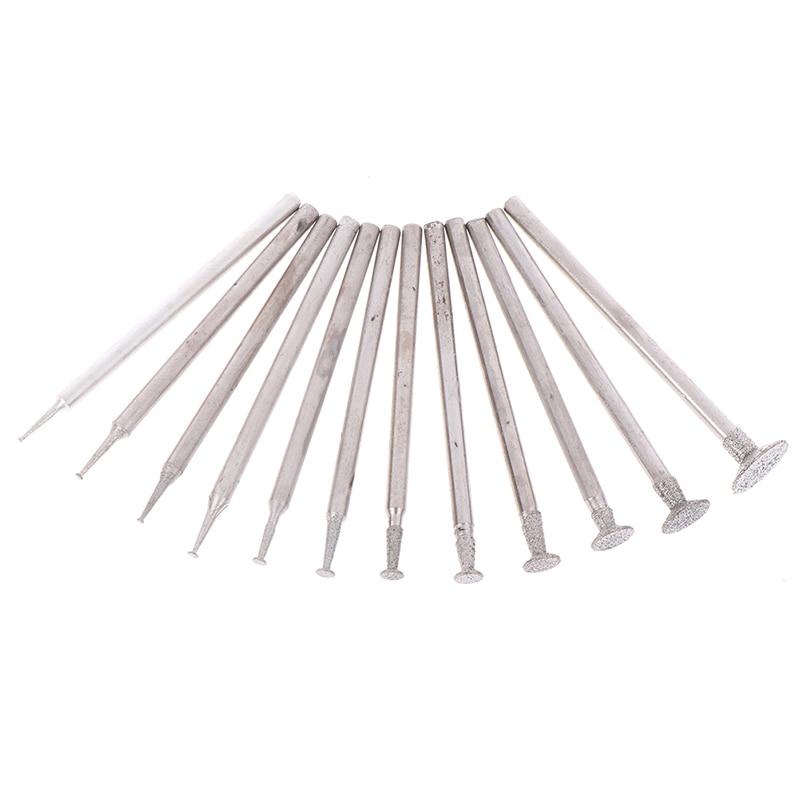 12 vnt. 2,3 koto deimantinis šlifavimo griovelio adatos taškinis - Abrazyviniai įrankiai - Nuotrauka 5
