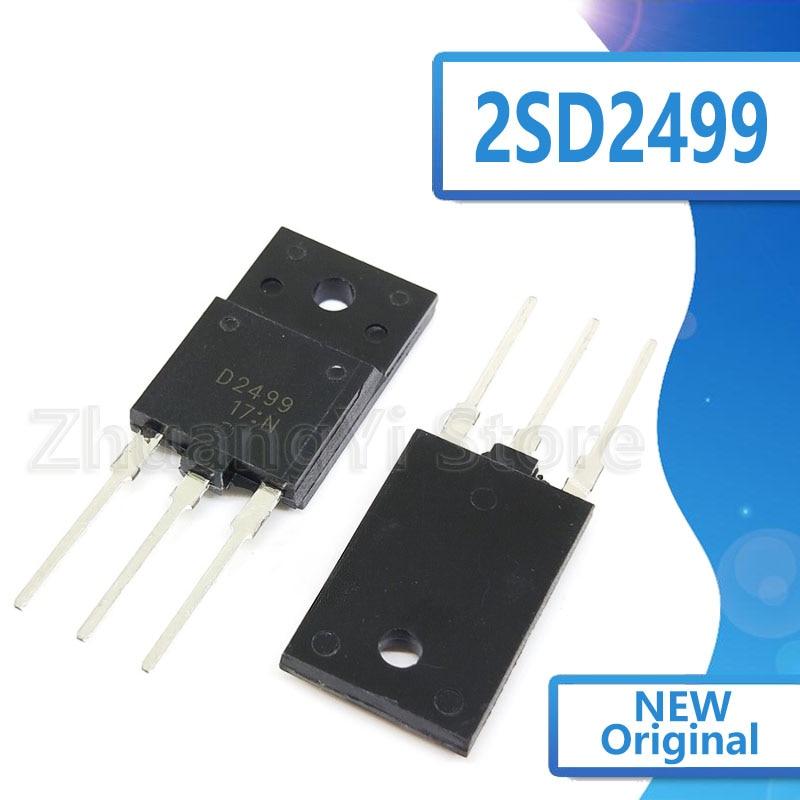 10 unids/lote D2499 2SD2499 Nuevas existencias TO-3PF 1500V 6A