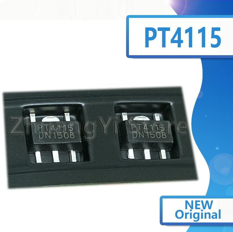50 шт./лот Новый PT4115 PT4115B89E SOT-89-5 светодиодный понижающий драйвер постоянного тока IC чип