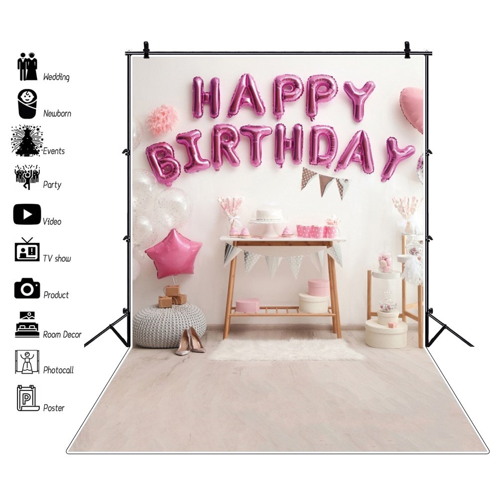 flower deer wedding background stand marriage party custom vinyl photography backdrops for photo studio photographic photocall Background Photography Birthday Party Baby Scenes Decor Balloon Cake Photocall Backdrop Photographic For Photo Studio Vinyl