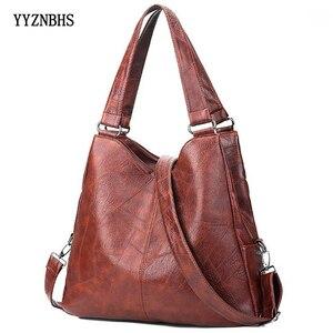 Vintage Bags for Women Leather Handbags Women Bag High Quality Soft Messenger Bags Female Shoulder Bag Black Ladies Large Bolsos