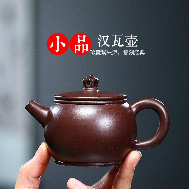 ييشينغ الأصلي Zizhu الطين اليدوية الأرجواني الطين إبريق الشاي