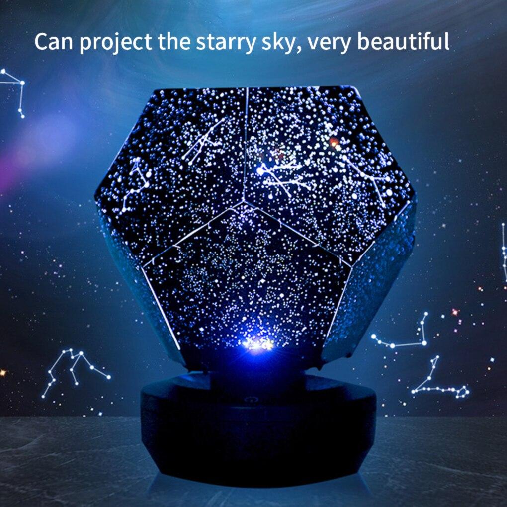 Galaxy projector starry sky lamp DIY Original for room Home  Gift Children Bedroom Decorative Light USB Night Light