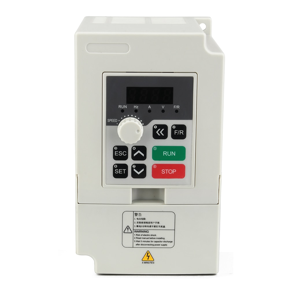 H100 Series 110 V/220 V/380 V husillo Motor inversor 1.5Kw transformador de frecuencia inversor herramienta eléctrica para Motor de husillo Cnc