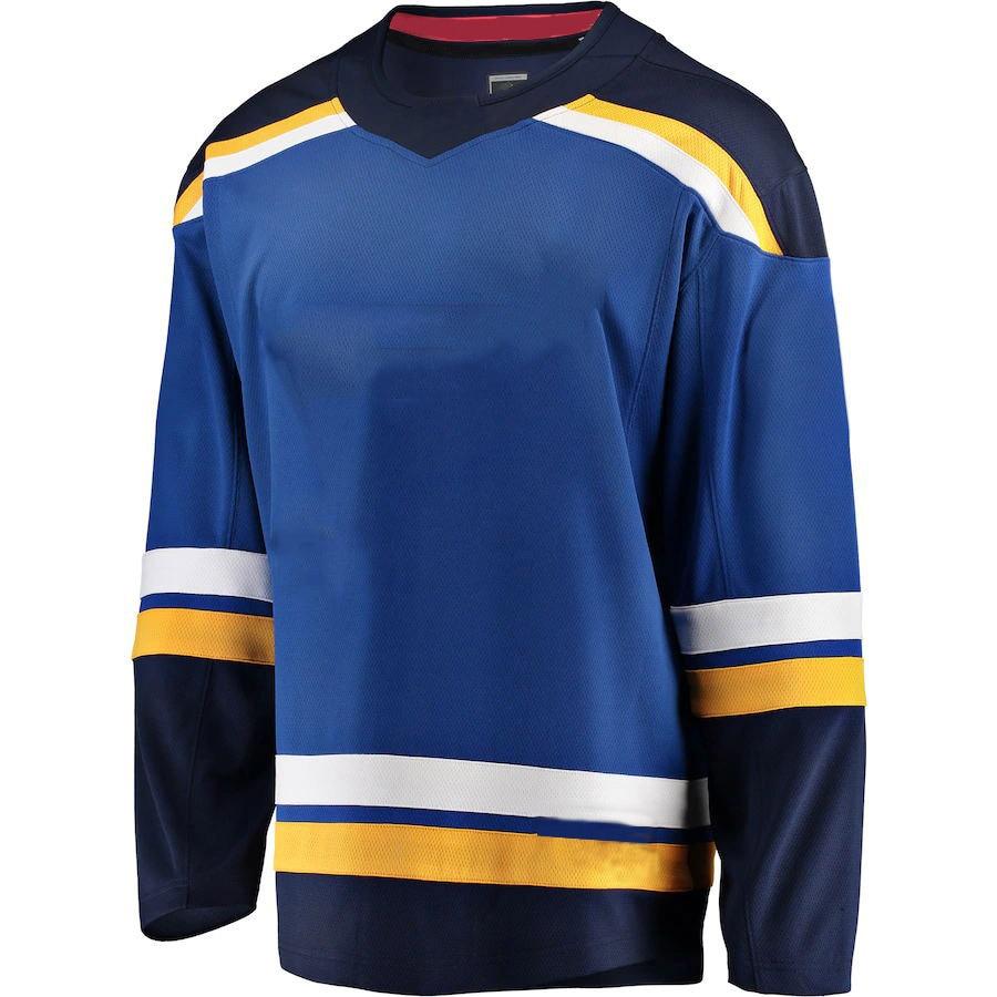 Personalizado Stitch para América Jersey de Hockey St Louis jerséis para seguidores Binnington Perron Reilly Tarasenko Parayko Pietrangelo Jersey
