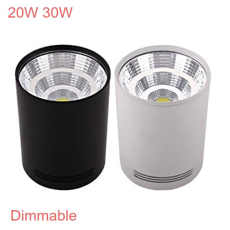 Luces empotradas LED montadas en superficie 20W 30W, lámpara de techo LED...