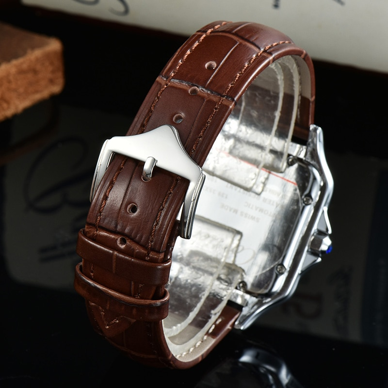 2021 New Hot Selling Mens Watches Top Brand Luxury Silver Diamonds Rubber Strap Quartz Chronograpgh Iced Out Watch enlarge