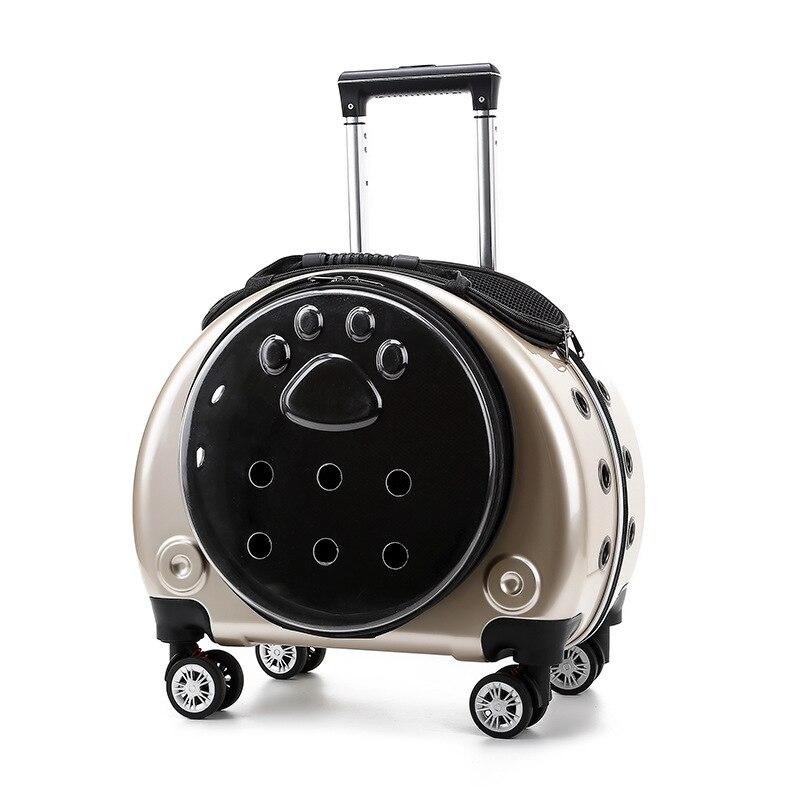 Cubierta de carrito porttil para perros... bolsa multifuncional de mochila de Escocia...