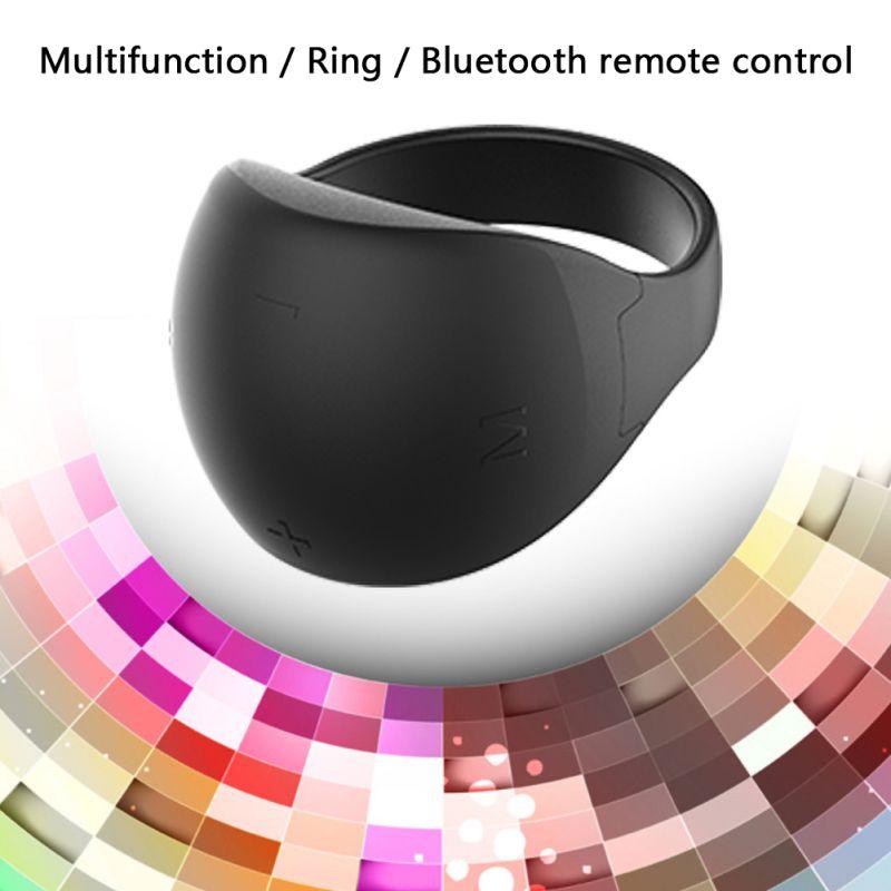 Control remoto anillo Bluetooth 5,0 anillo Control remoto PPT Page-Turner Mouse Bluetooth teléfono móvil Control remoto