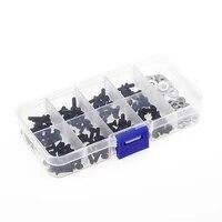 180pcs universal screws box sets for 110 hsp d90 src10 traxxas tamiya hpi kyosho remote control rc model car spares parts