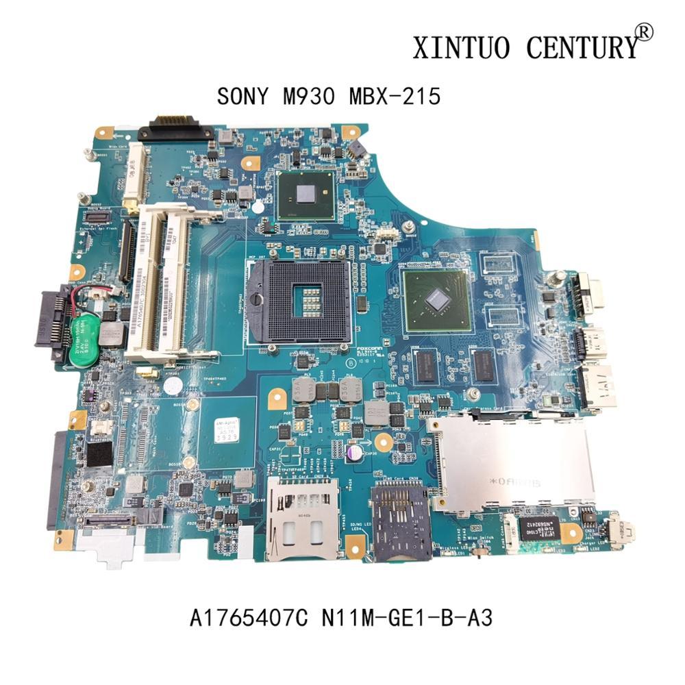 A1765407C لسوني M930 MBX-215 اللوحة المحمول 1P-009BJ00-8012 REV 1.2 GF310M مع N11M-GE1-B-A3 DDR3 100% اختبار العامل