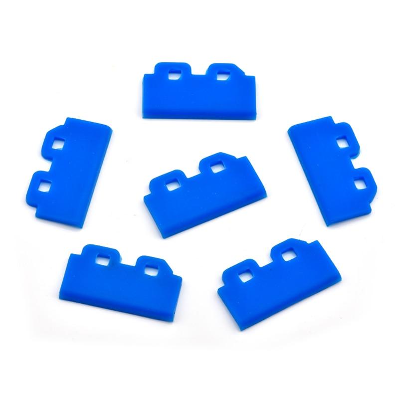 Escobilla limpiaparabrisas 10 Uds para Epson Mimaki JV33 / CJV30 / JV150 / JV300 DX5 DX7 Roland Mutoh cabezal de impresión limpiaparabrisas azul