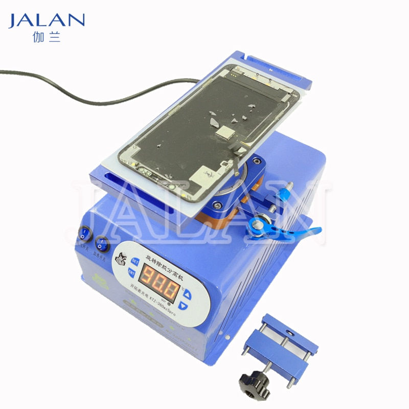Universal Rotatable LCD Separator for Samsung In Frame Glass Separating Oca glue Cleaning Mobile Phone Repair Replace Screen enlarge