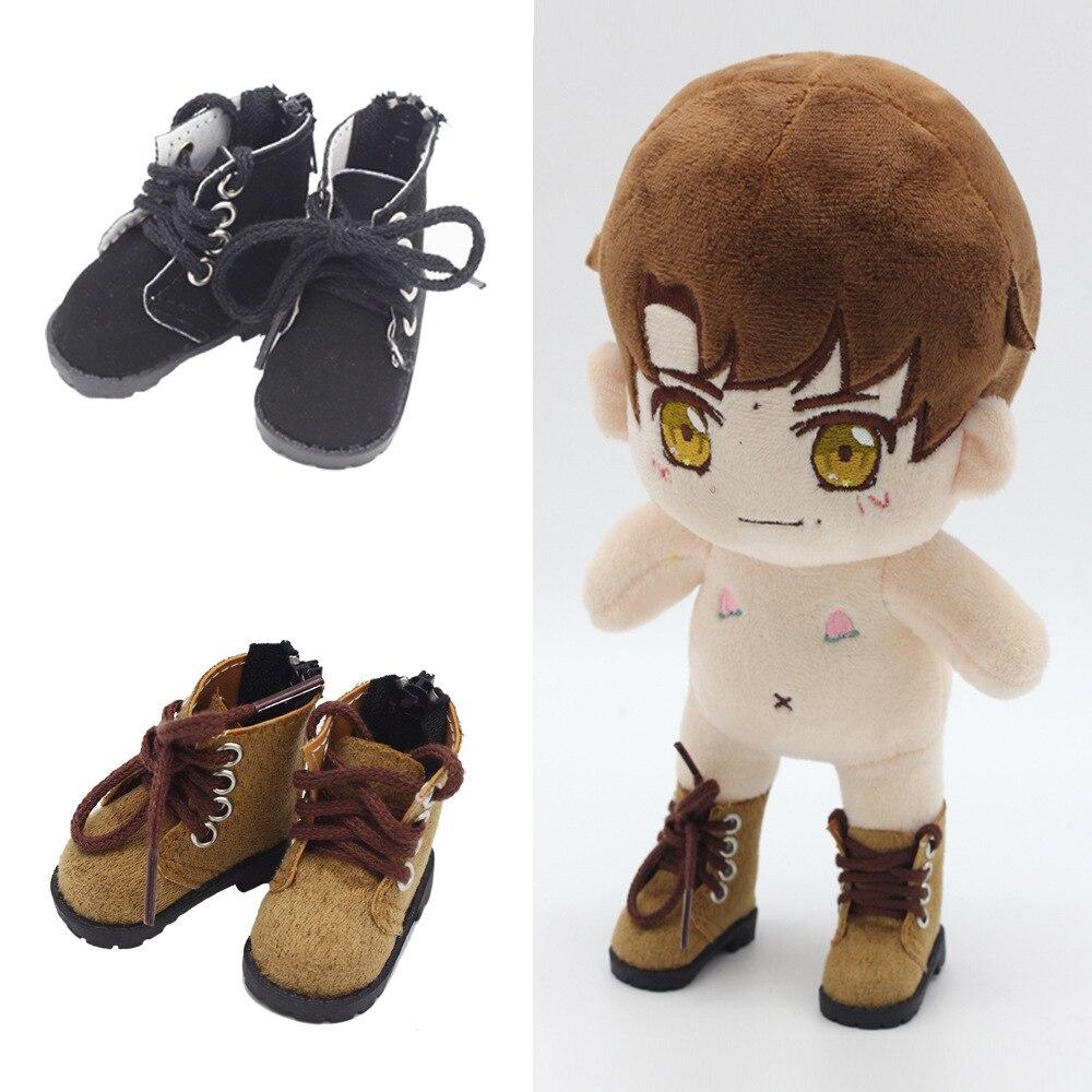 Nuevos zapatos de 5cm para muñecas BJD botas casuales de juguete 1/6 zapatillas de gimnasia para EXO 20cm k-pop coreano accesorios de muñecas de peluche para muñecas de juguete