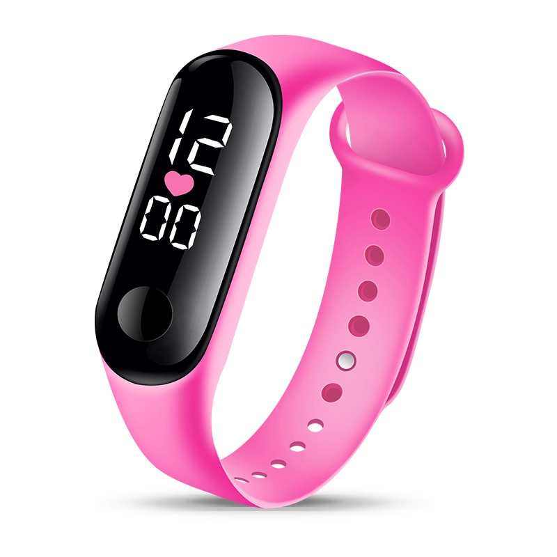 Fashion Bracelet Watch Children Watches Kids for Girls Boys Sport Electronic Wristwatch Digital Child Clock Student Watch