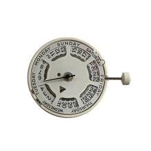 Watch Movement homemade white gold Calendar Quartz Movement for Swiss ISA 1198 Automatic Mechanical