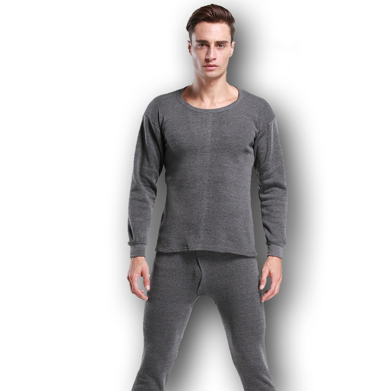 Winter Thermal Underwear Sets For Men Thermo Underwear Long Johns Winter Clothes Men Thick Thermal C