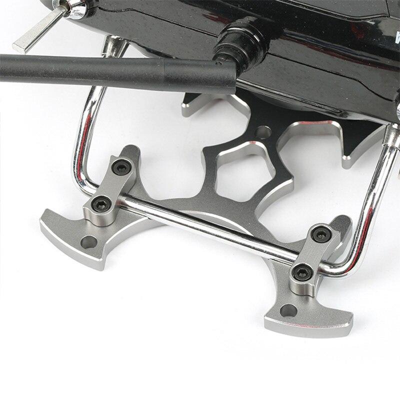 Robot modelado RC Radio transmisor soporte de montaje de Metal soporte de reemplazo adecuado para JR FUTABA FRSKY Taranis, gris