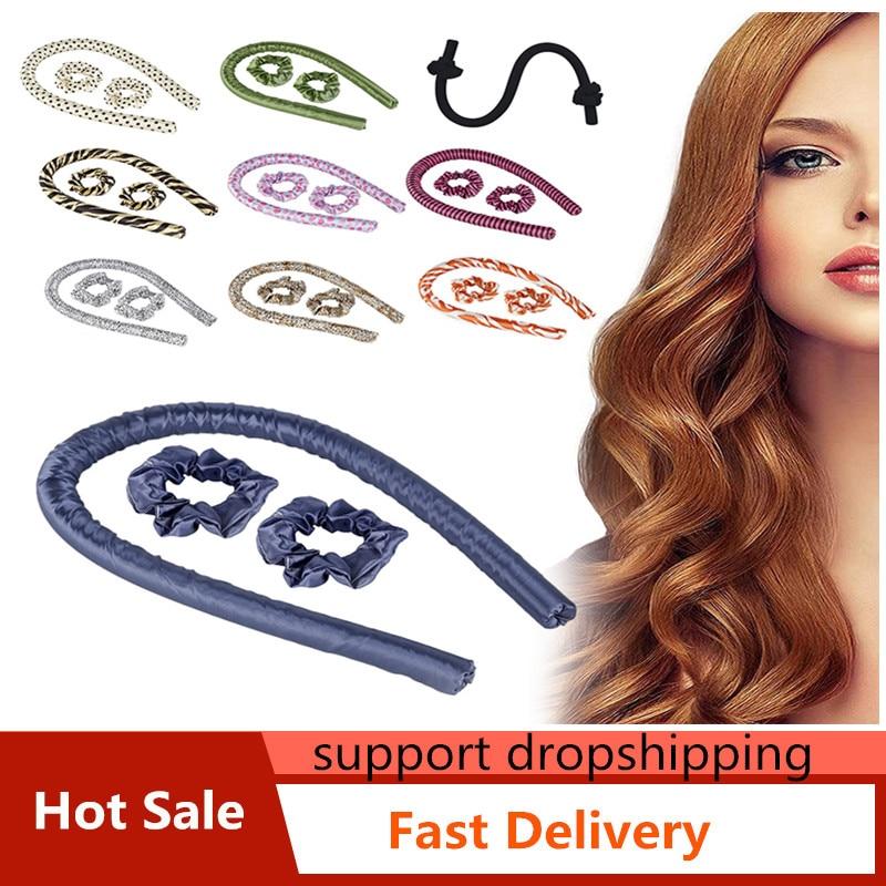 Hot Sale Heatless Hair Curler Heatless Curling Rod Headband with 2 Hair Ties and 1 Hair Clip No Heat