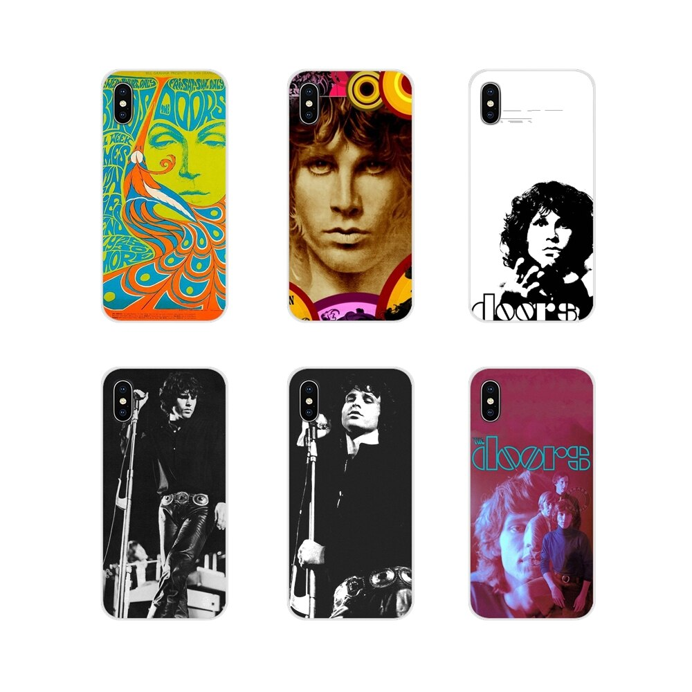 Jim Morrison Rock Band The Doors Poster For Oneplus 3T 5T 6T Nokia 2 3 5 6 8 9 230 3310 2.1 3.1 5.1 7 Plus 2017 2018 Custom Case