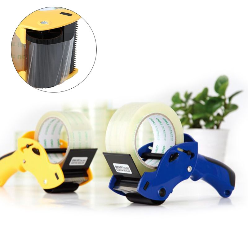 Tape Cutter Dispenser Manual Sealing Device Baler Carton Sealer Width 6cm/2.36in Packager Cutting Machine Easy To Operate K3KB