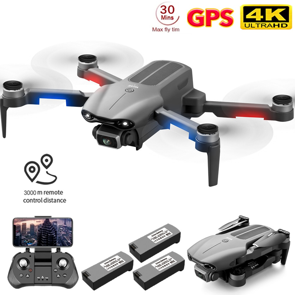 2021 NEW F9 GPS Drone 4K Dual HD Camera Professional Aerial Photography Brushless Motor Foldable Quadcopter RC Distance1200M