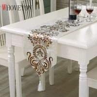 european table runner classic palace style tablecloth simple modern tablecloth home decoration table runner hotel table flag