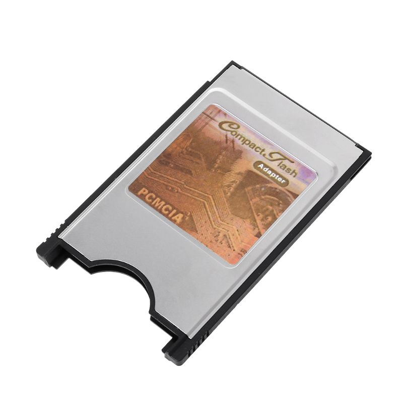 Compact Flash CF to PC Card PCMCIA Adapter Cards Reader for Laptop Notebook New